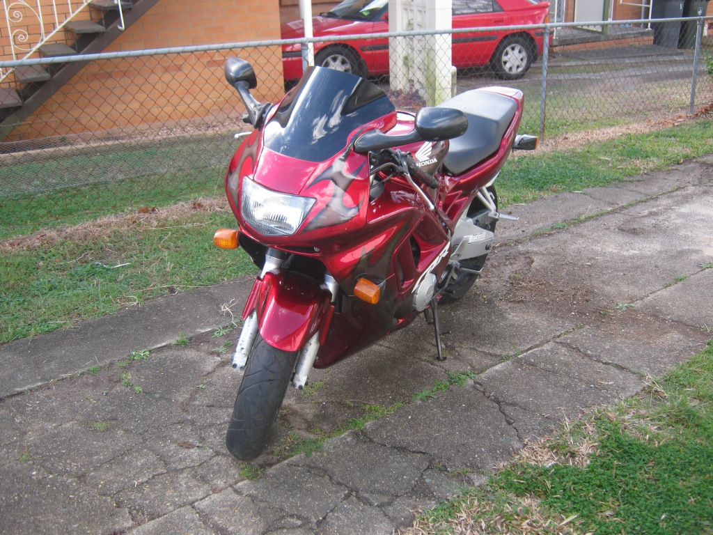 The CBR when I new set of EBay fairing