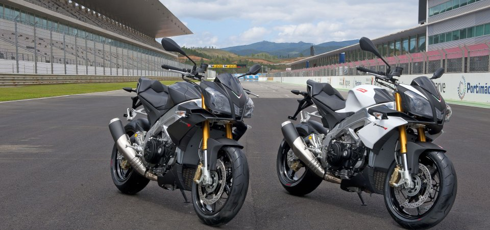Pictures of the new 2014 Aprilia Tuono, pictures provided by Aprilia