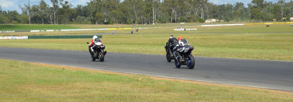 Chasing down a ZX14. Man that think had some stonk down the straights