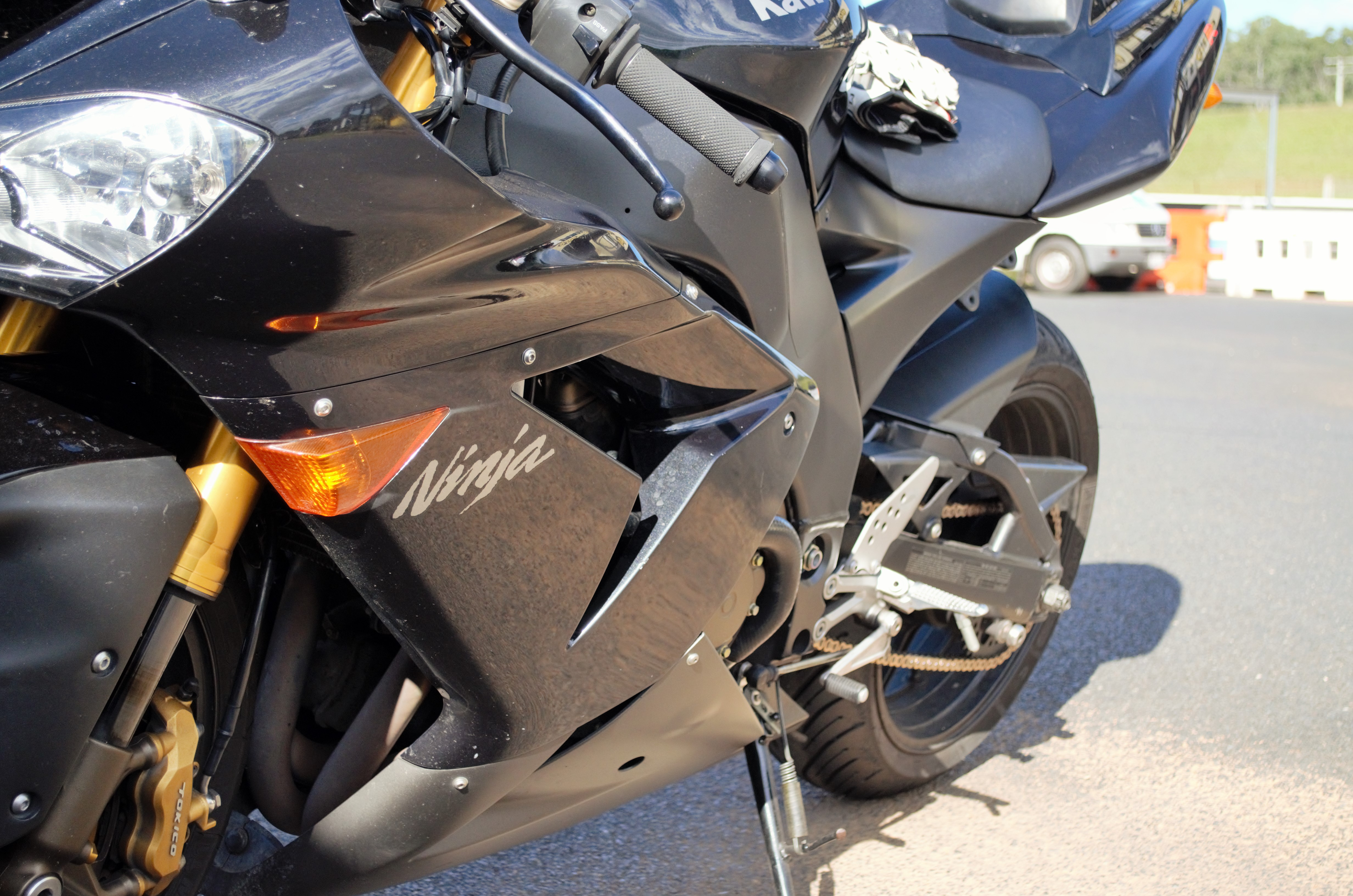 Warp Speed Engaged A Used 2005 Kawasaki Zx10r Review The