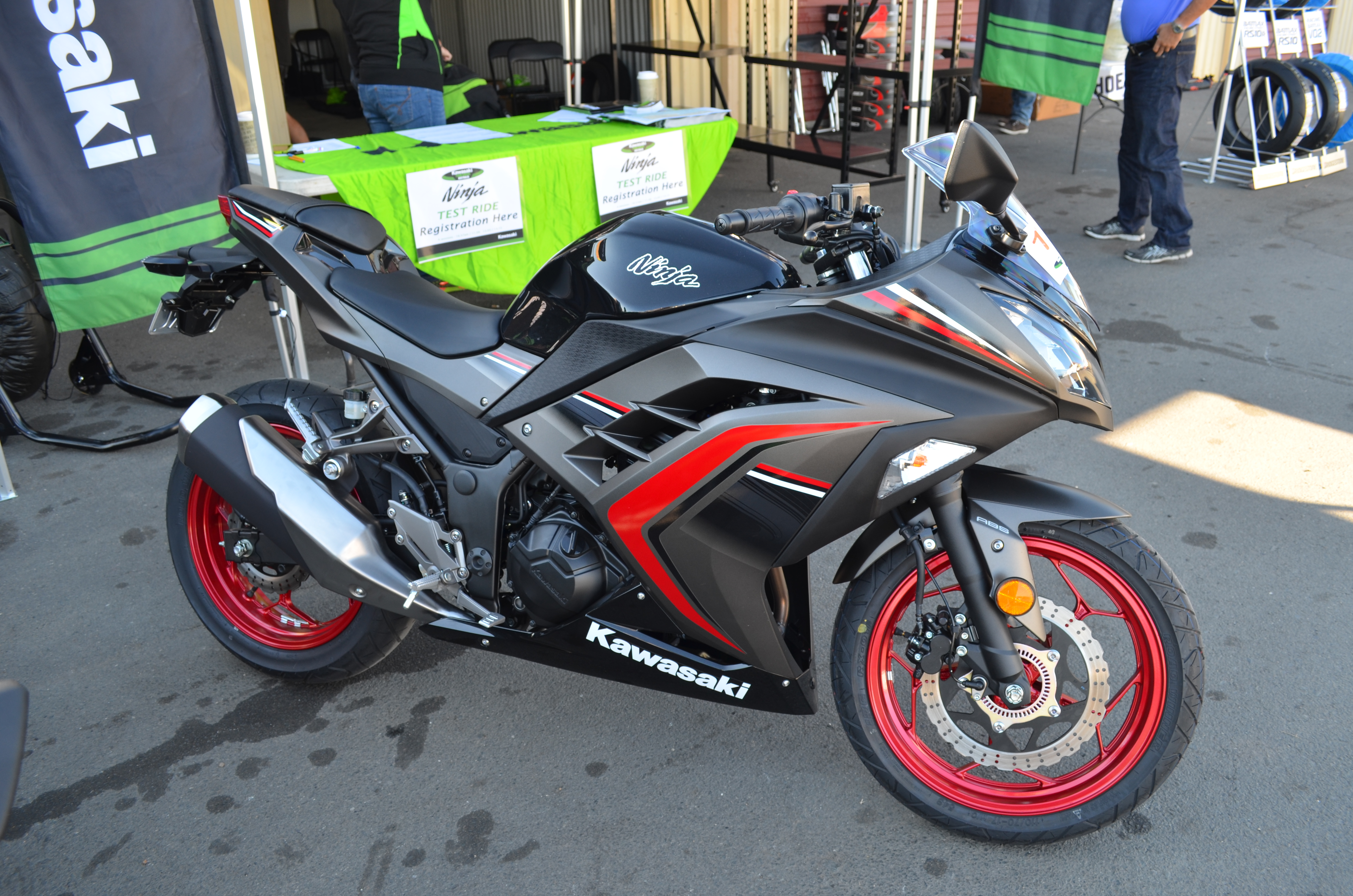 2015 Kawasaki Ninja 300 Abs Test And Track Ride Onthebackwheelcom