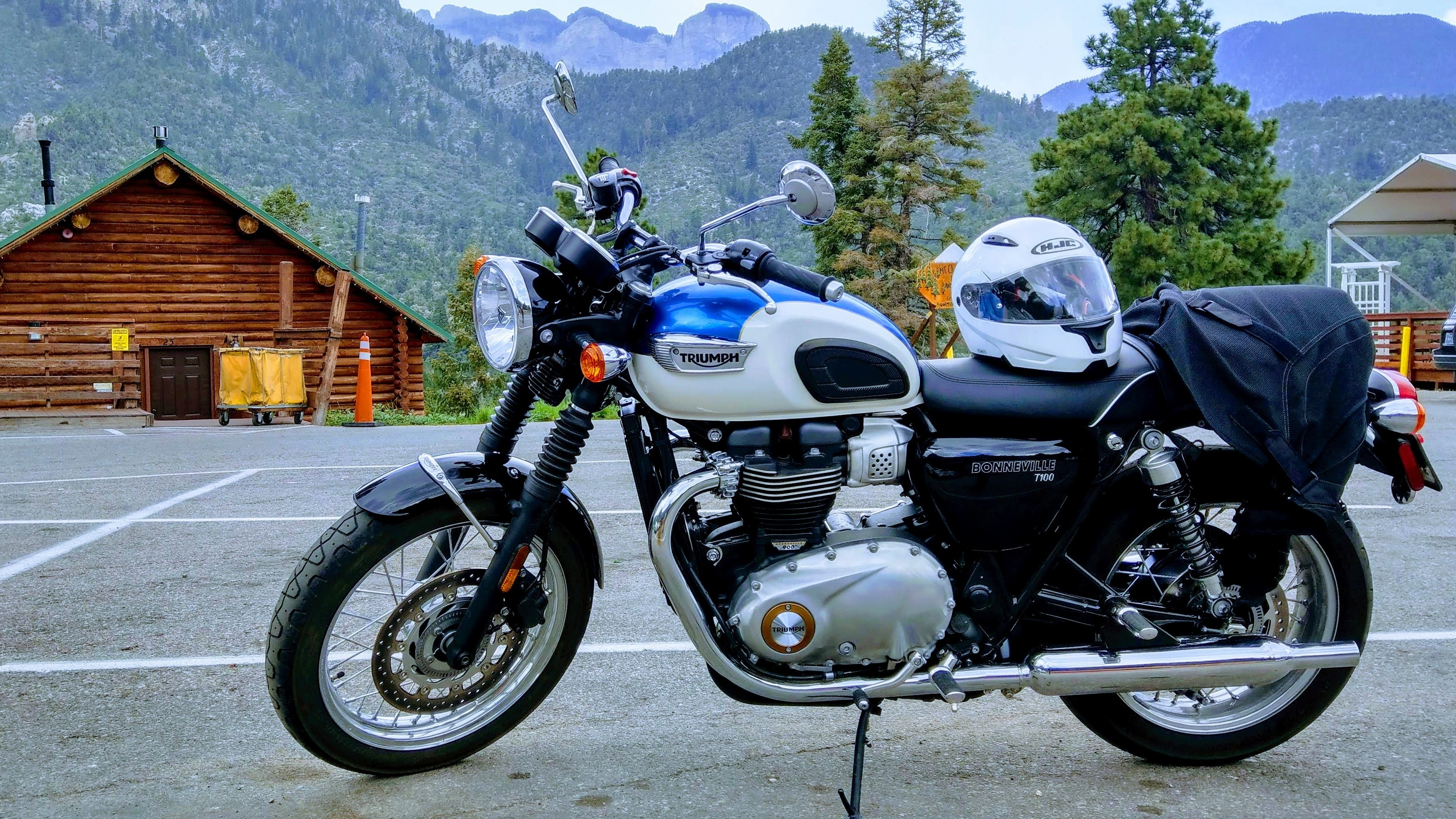 2018 Triumph Bonneville T100 Ride Review Onthebackwheelcom
